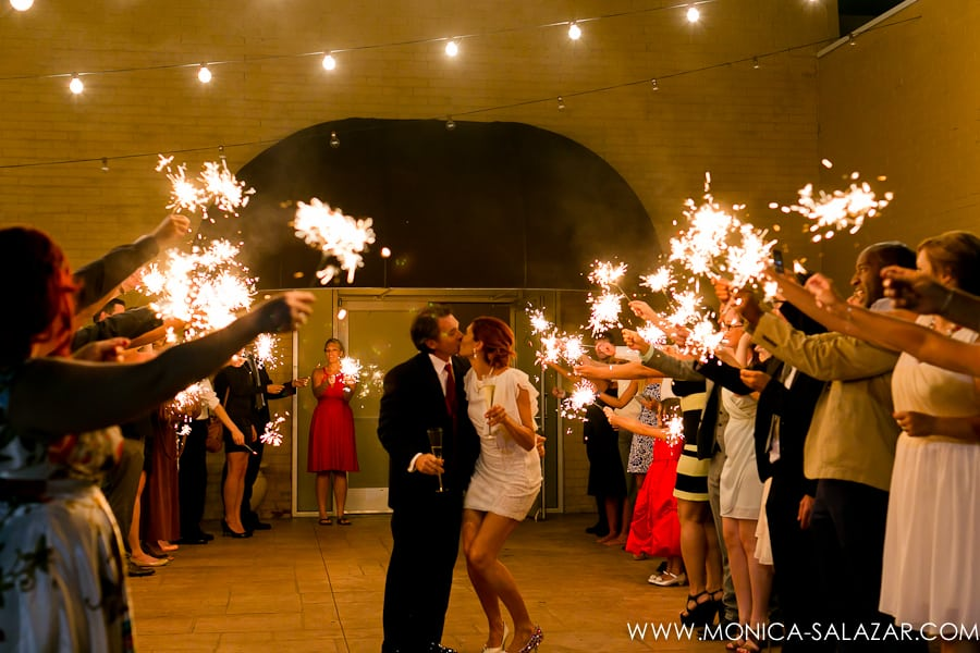 20 Eye-Popping Sparkler Send-Offs